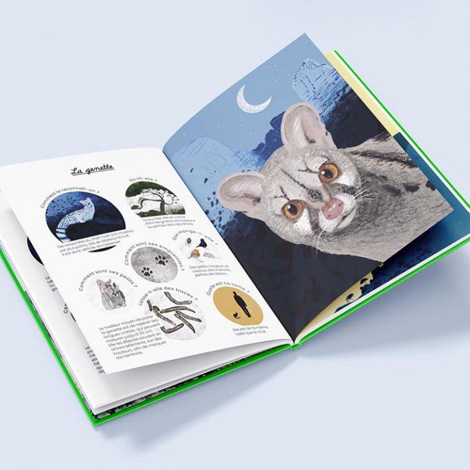 Sur la piste des animaux des Calanques, livre enfant
